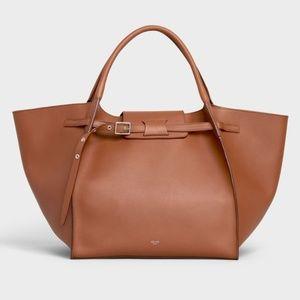 Celine 2018 Medium Big Bag Natural Calfskin